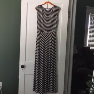 Calvin Klein Maxi Dress Sz 8
